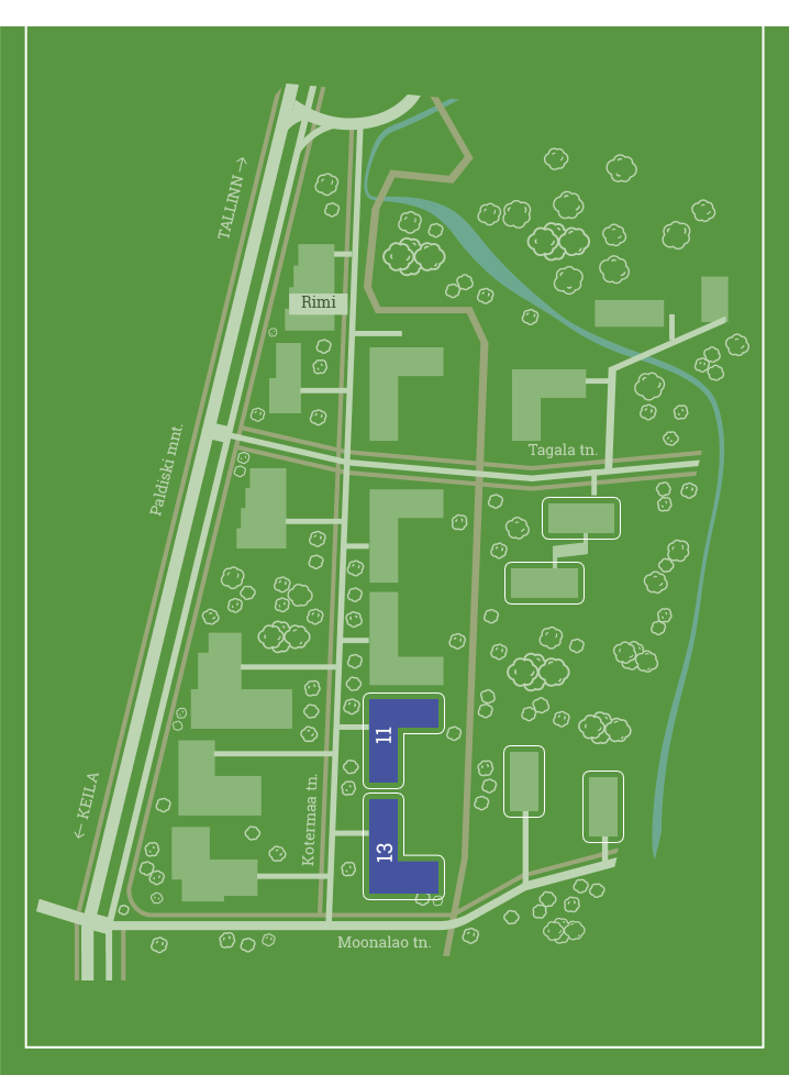 piirkonna kaart